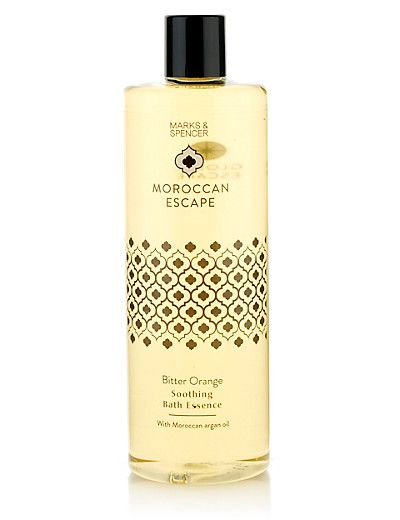 Moroccan Escape Bitter Orange Bath Essence with Argan Oil 500ml Home - inspired by the rich warm scent of the Moroccan bitter orange tree