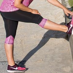 STRETCH IT OUT in Pink Serpentine Fitted Tights! Feel good, look great - activewear sizes 16-26 Designed & Made in Australia www.blitzactive.com.au  #blitzactive #blitzactivewear #activewear #plussizeactivewear #plussizeworkout #tights