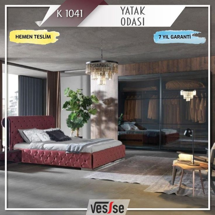 Another of Esse's amazing designs! K 1041 Yacht ...  #Bedroom