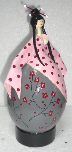 Blog de sandrinemerriaux :Sandrine Merriaux . Créations en papier mâché, fleurs de cerisiers