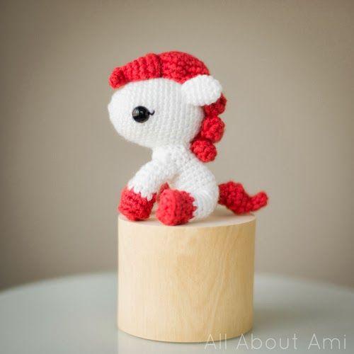 Patrón amiguriumi pony