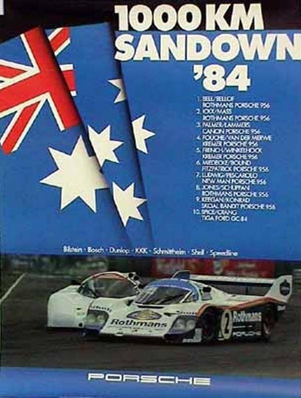 1000 km Sandown 1984