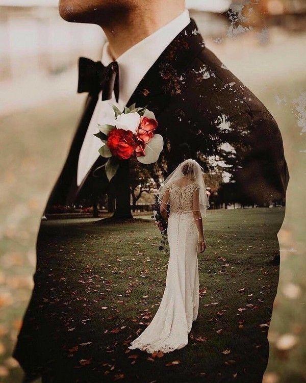 double exposure wedding photos #wedding #weddings #weddingideas #weddingphotos #rar