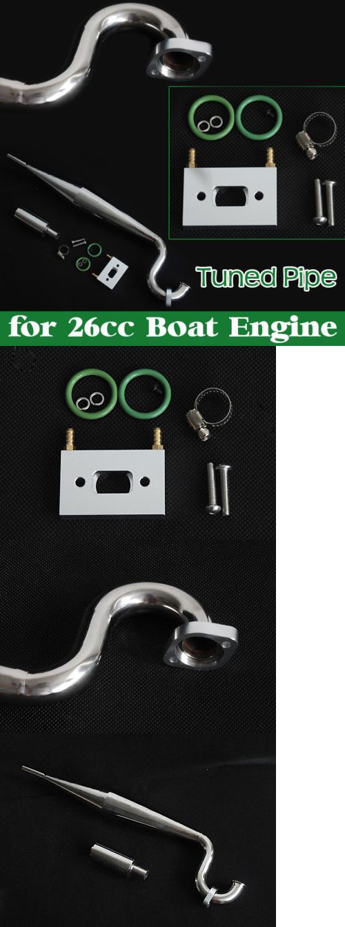 Other RC and Control Line 168248: M2631 Tuned Pipe Exhaust Muffler For Zenoah Cy Gw26i 26Cc Boat Gas Engine New -> BUY IT NOW ONLY: $47.99 on eBay!