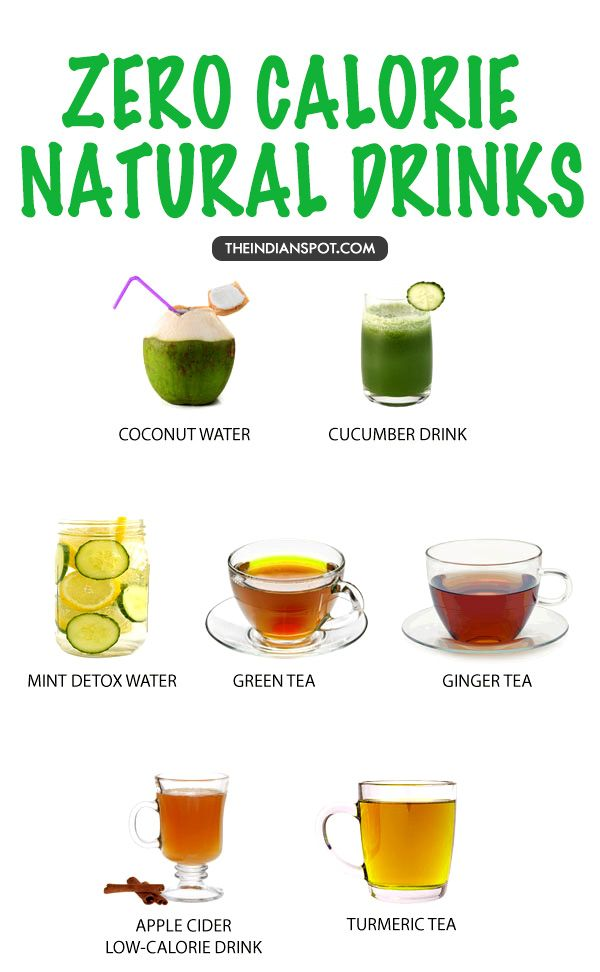 ZERO CALORIE ALL NATURAL DRINKS