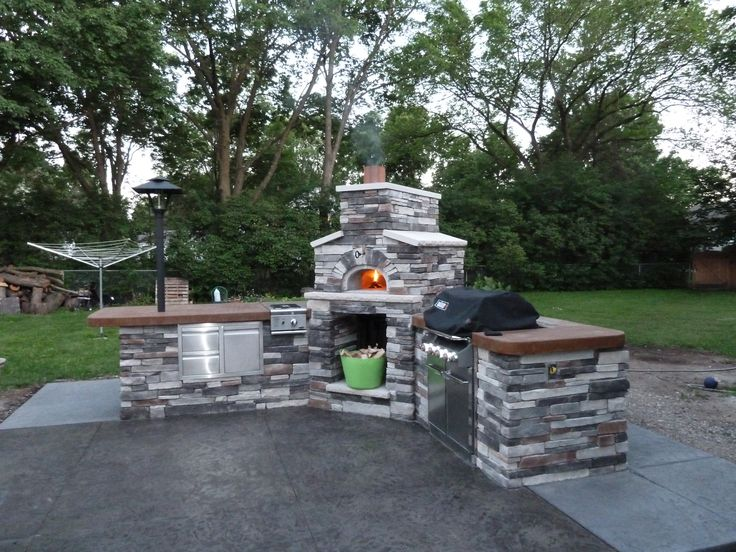 outdoor wood fired pizza oven custom chicago brick oven wood