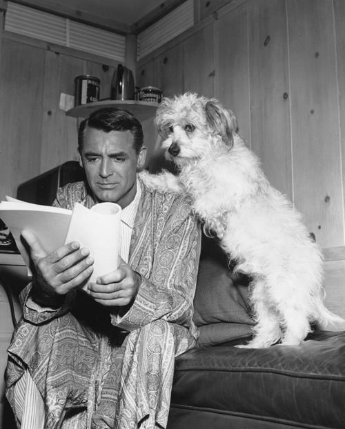 Cary Grant–love this man