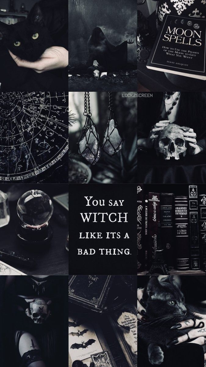 Witch Of Wicca Witchy Wallpaper Witch Wallpaper Goth Wallpaper