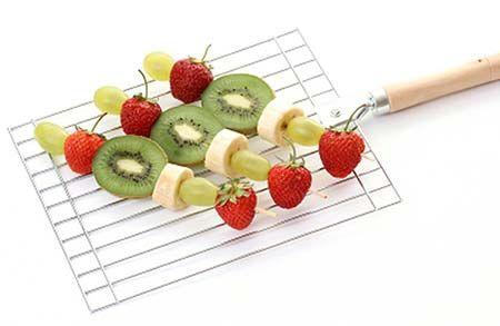 Jak grillować owoce?
