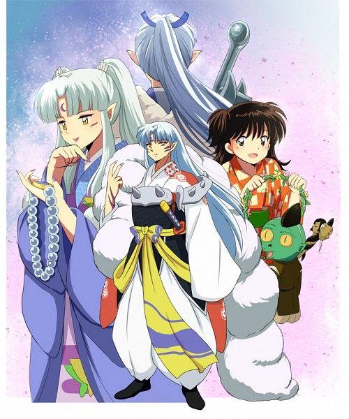 "Sesshomaru's Parents ""Inu Kimi"" And Inu No Taisho, Lord"