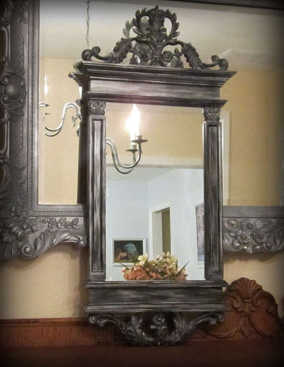 140 best decorative ornate antique vintage mirrors for for Fancy mirrors for sale