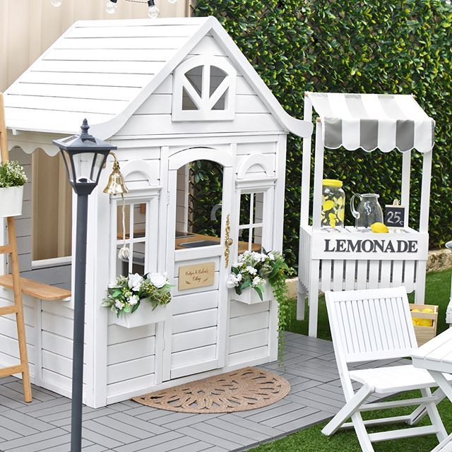 I Couldn T Find A Lemonade Stand That I Loved So I Made One Myself With Some Help From My Mum Please Leave Kinder Gartenhaus Regal Hauser Hinterhof Spielhaus