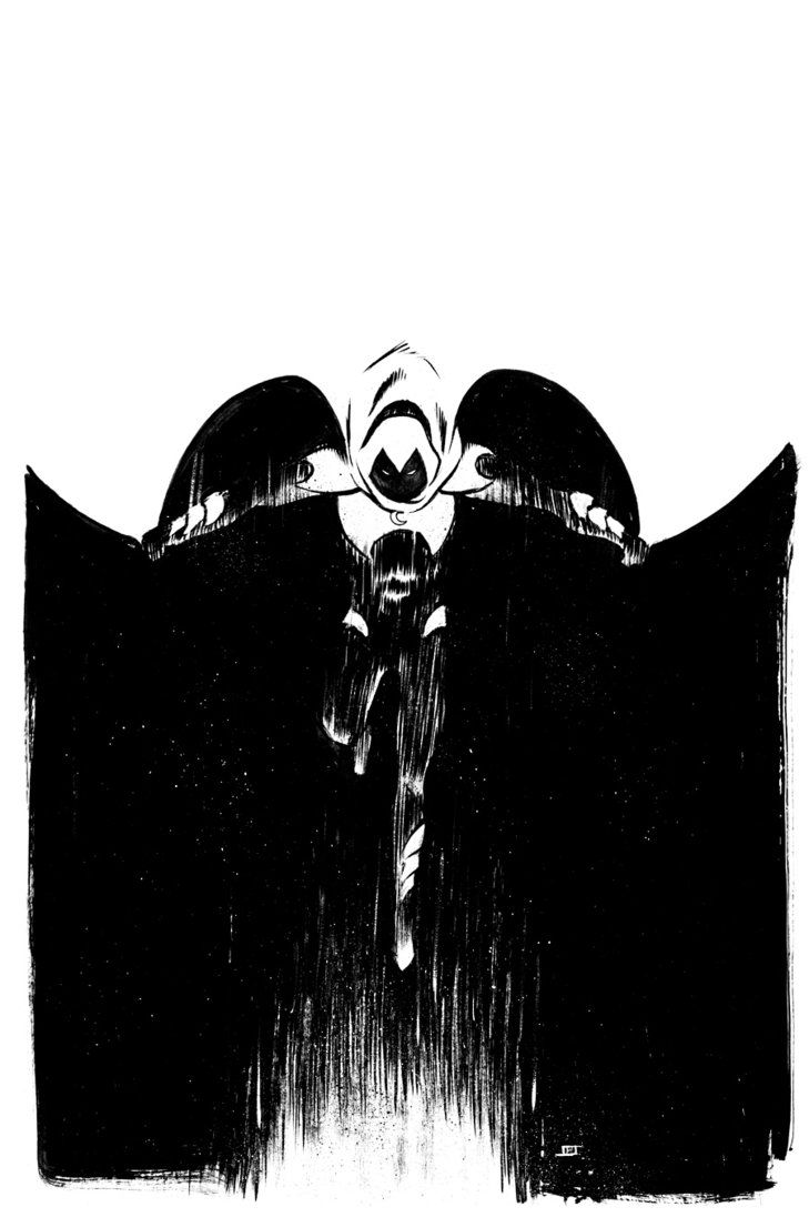 Moon Knight Commission by JeffStokely