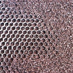 honeycomb layer gravel driveway