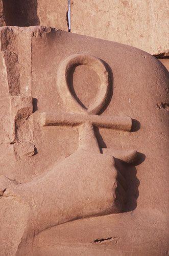 Ankh: Egyptian symbol of life