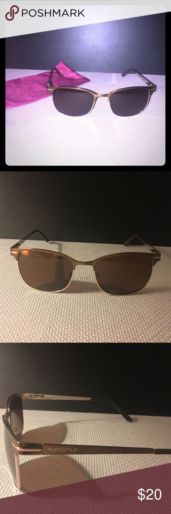 Suncloud polarized sunglasses Gently used Suncloud sunglasses. No scratches. In original pouch Other