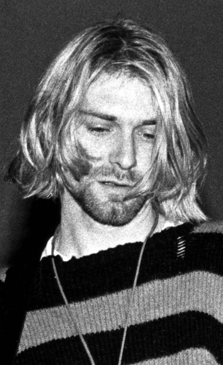 Kurt Cobain after overdose
