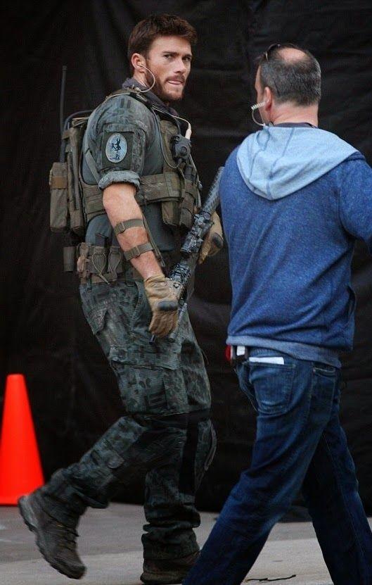 VJBrendan.com: Scott Eastwood Filming 'Suicide Squad' in Toronto