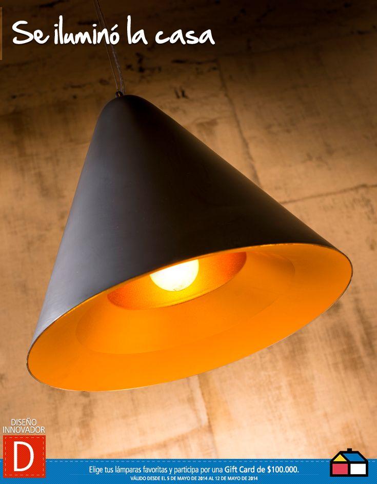 Diseño Innovador, Se iluminó la casa #concurso