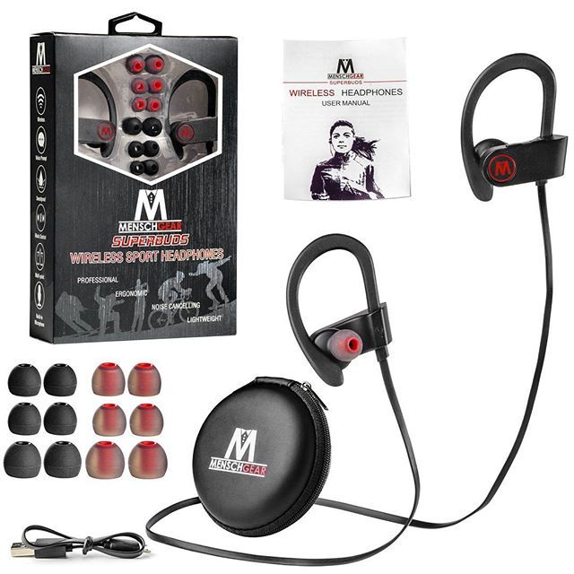 The new Menschgear superbuds. The best wireless sweatproof & lightweight #earbuds out there. With extra ear tips and for a reasonable price! Check it out on amazon  Great for all kinds of sports and workouts!  . Link in my bio  . #electronics #electronic #headphones #earphones #technology #tech #device #gadget #gadgets #instatech #instagood #geek #techie #nerd #techy #photooftheday #bluetooth #picoftheday #hack #sports #sport #running #gym #smartphone #tablet #cycling #workout #fun…