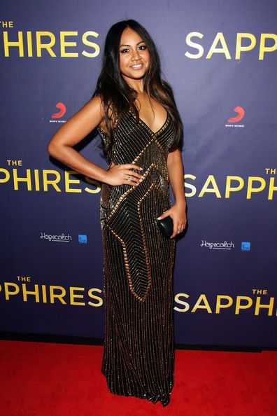 Jessica Mauboy in Montique for the Sapphires Premiere #montique #jessicamauboy #fashion #style