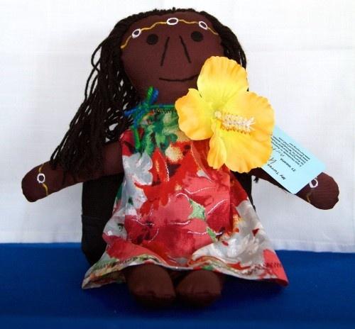 Torres Strait Islander Woman Doll