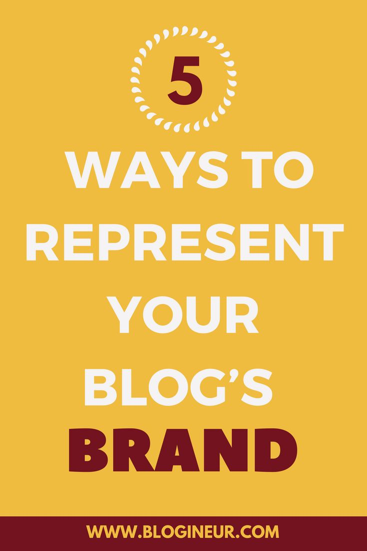 How you can you use your blog to represent your brand? Check out how you can represent your brand, using your blog. #blog #bloggers #blogging #brand #branding
