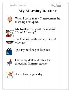 Image result for morning routine classroom schedule