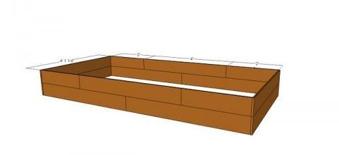 Three 4 X8 Raised Cedar Beds For 45 Total Cedar 400 x 300