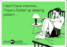 Night shift problems... Exactly why I'm on bed pinning this at 0135