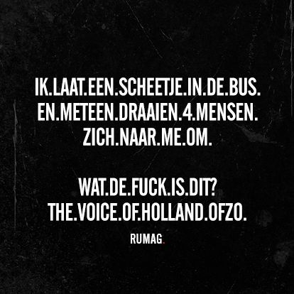 Voice of holland. Rumag