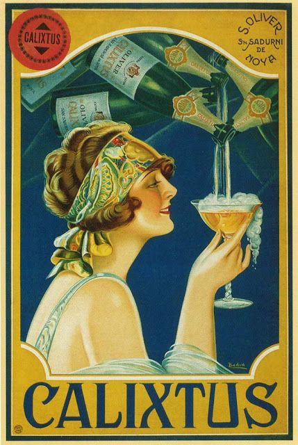 1920s champagne ad