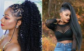 23 New Ways to Wear a Weave Ponytail