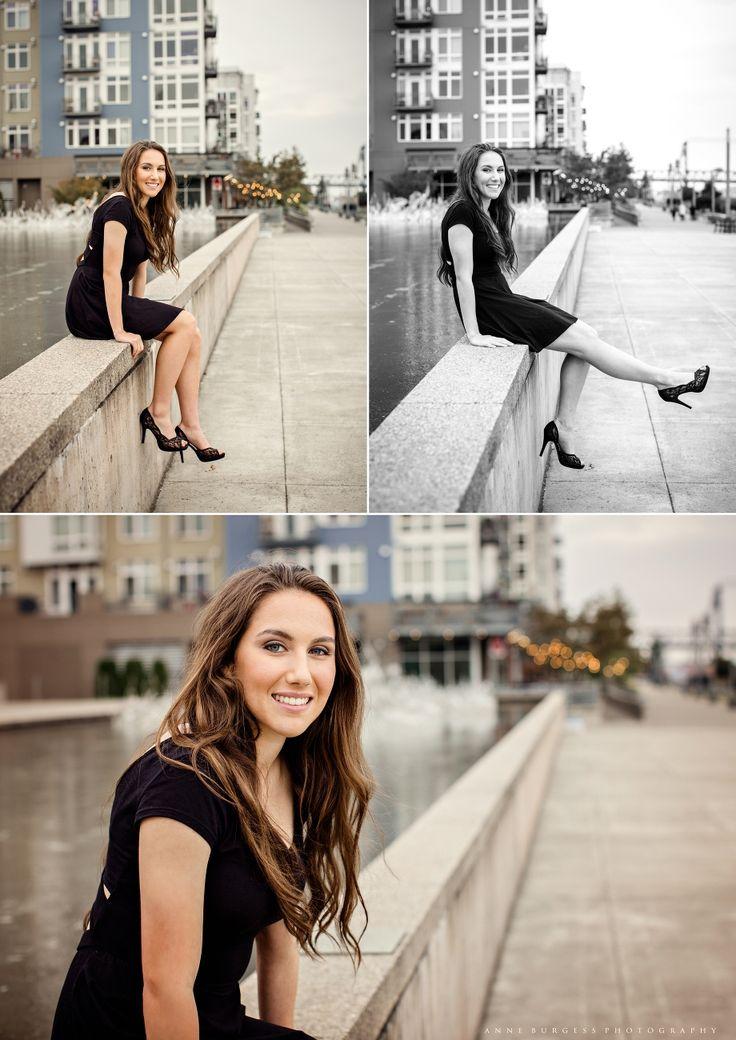 Senior pictures, senior photography, urban senior picture ideas, senior pictures in the city, Anne Burgess Photography, girl senior poses