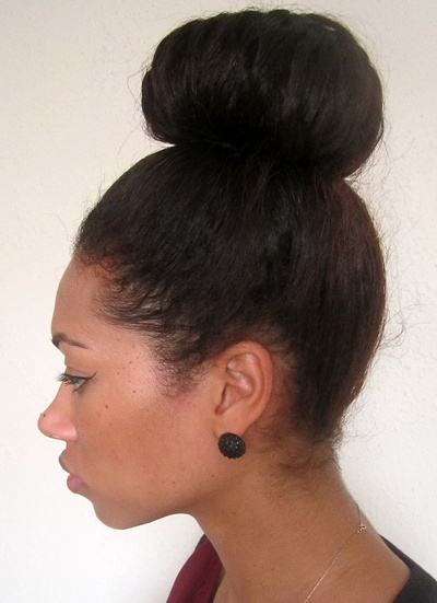 Fine 1000 Images About High Bun On Pinterest High Bun Big Bun And Buns Hairstyles For Women Draintrainus