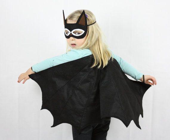 Black Bat Wings & Crown Set  Halloween by sparrowandbcostumery, $55.00