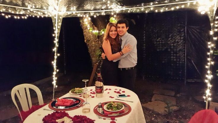 Romantic Dinner For Our One Year Anniversary I Made For My