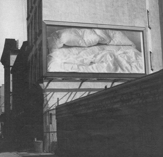 "Felix-Gonzalez Torres ""Untitled, 1991"" (Location #22: 504 West 44th Street) Art Experience NYC www.artexperiencenyc.com/social_login/?utm_source=pinterest_medium=pins_content=pinterest_pins_campaign=pinterest_initial"
