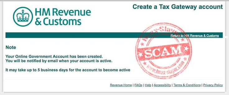 HMRC 'You are Eligible to Receive a Tax Refund' Phishing Scam