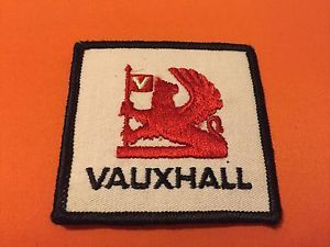 Vintage 1970's Vauxhall Motors Auto Car Club Embroidered Patch RARE Collectible | eBay