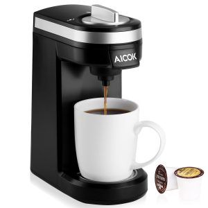 Best College Graduation Gifts no. 1. Aicok Single Serve K-Cup Coffee Maker