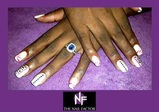 Done @ The Nail Factor Gateway! #NailFactorMoments #gelpolish  #nails #cool #nail #gelart #gelnails #nailart #instanails #gel  #nailgasm  #todaysnails  #manicure  #nailswag #nailpolish