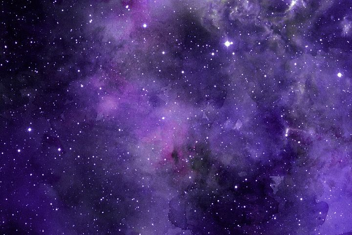 Space Watercolor Backgrounds - Free Design of The Week Design 4