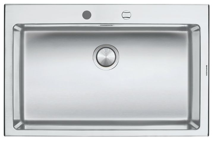Barazza 1LB081 B_Open Large Single Bowl Sink - appliances online
