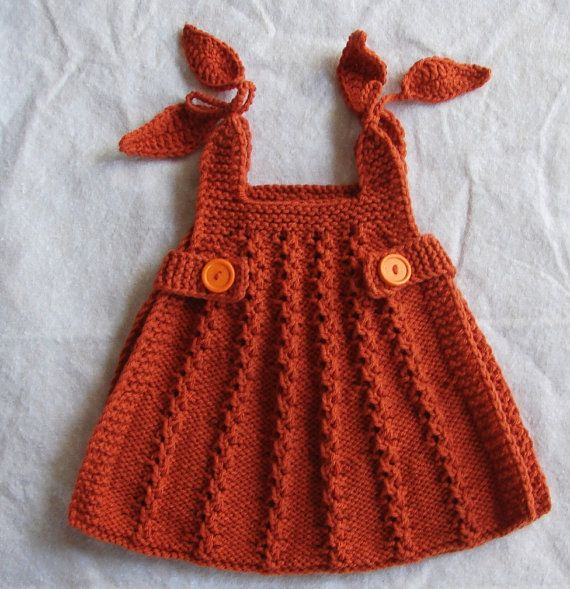 Beautiful little knitted dress