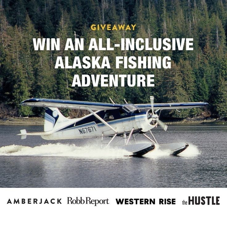 Win an all-inclusive fishing trip for two to the incredible Boardwalk Lodge on Prince of Wales Island, Alaska.
