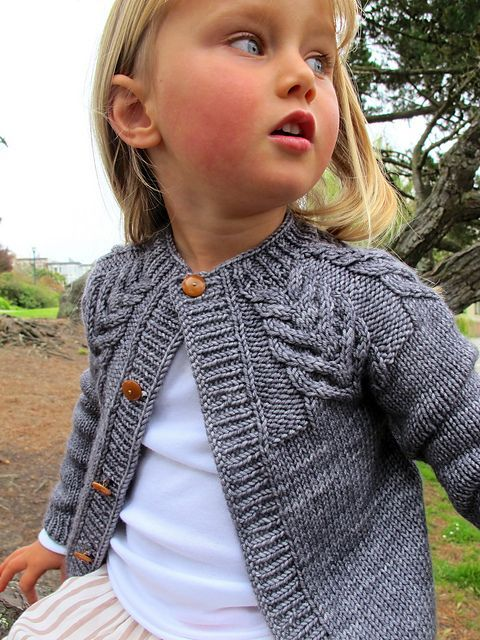 Wide Range of Sizes (Baby to Adult) Ravelry: Antler Cardigan pattern by tincanknits Plus