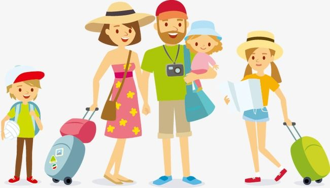 Family Travel Travel Character Family Png Transparent Clipart Image And Psd File For Free Download Family Travel Clip Art Travel