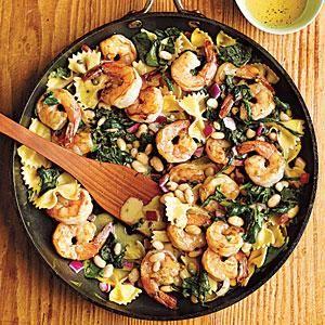 Warm Pasta Salad with Shrimp | MyRecipes.com