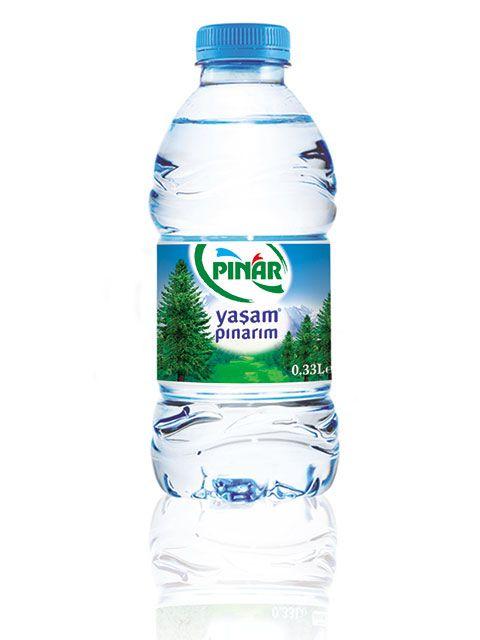 Pınar Pet Şişe 0,33 lt